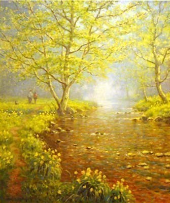 Shades of Spring by James Preston -  sized 10x11 inches. Available from Whitewall Galleries